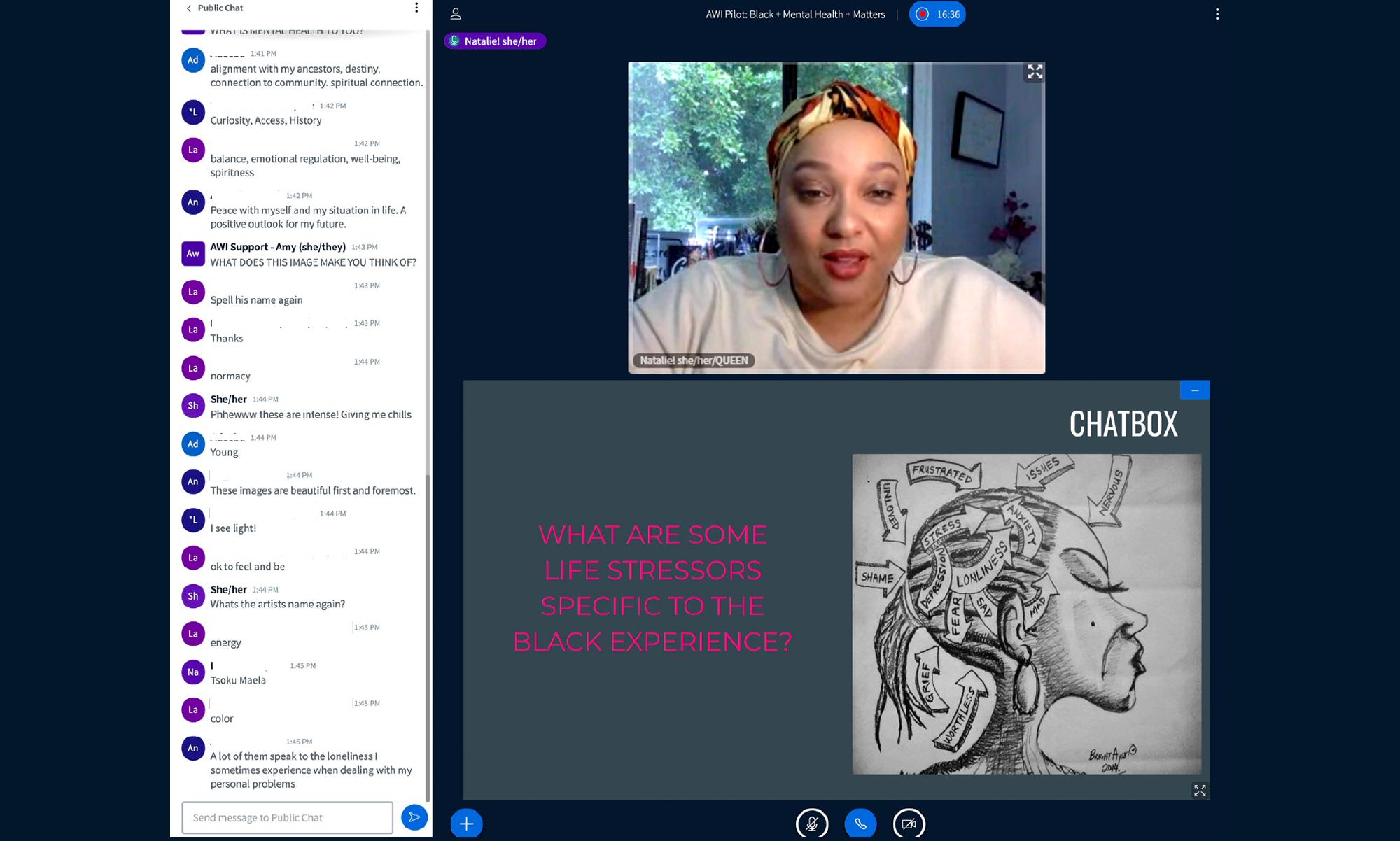 Black + Mental Health + Matters